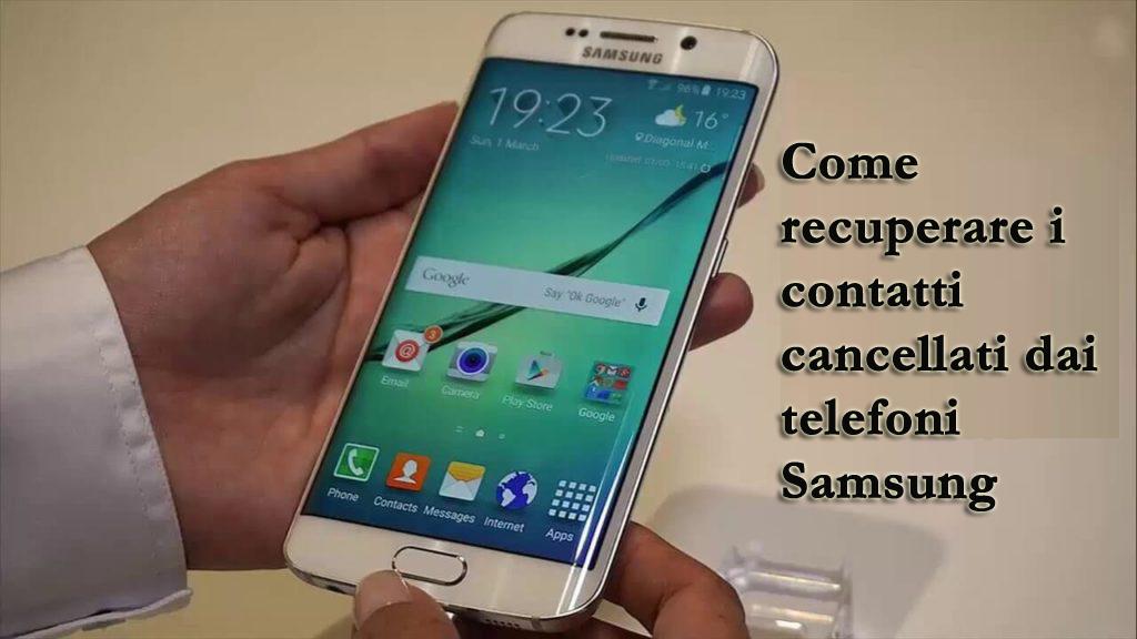 Samsung Contatti scomparso