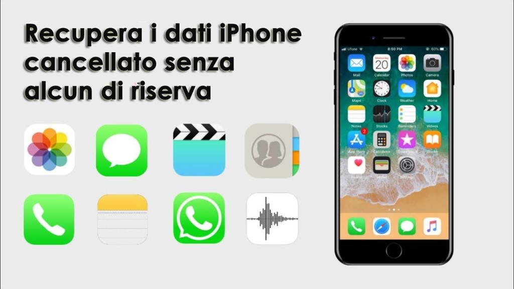 Recupera i dati dall'iPhone cancellato senza alcun di riserva