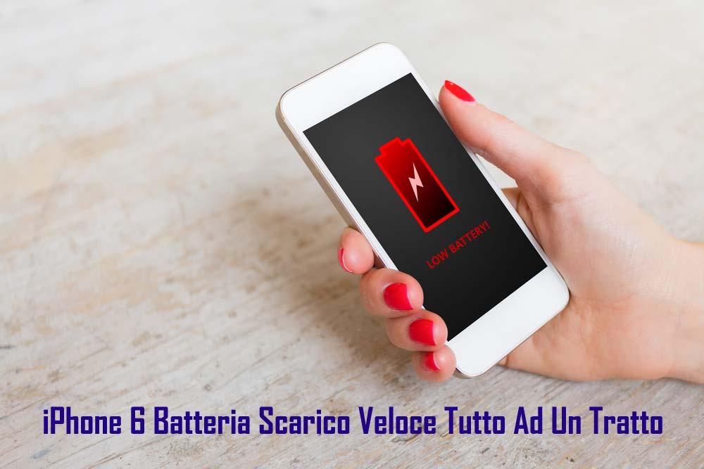 [17 Modi] Fissare iPhone 6 Batteria Scarico Veloce Tutto Ad Un Tratto