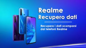 Realme Recupero dati: recupera i dati scomparsi dai telefoni Realme