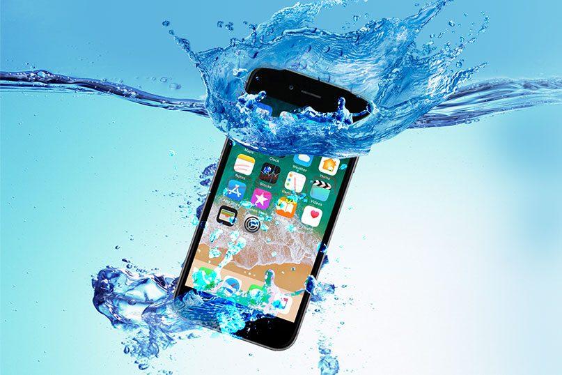 recuperare i dati da acqua danneggiati iPhone