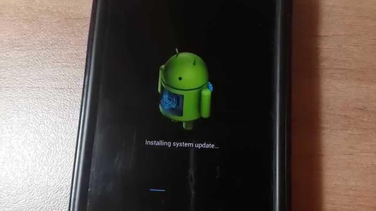 Android aggiornamento Installazione fallita