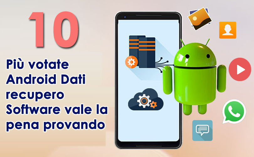votate Android Dati recupero Software