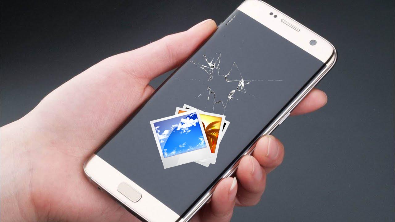 Recupera le foto dal telefono Samsung rotto
